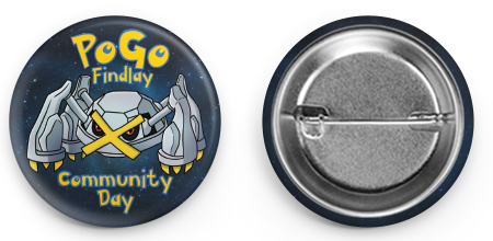 Beldum Community Day Button