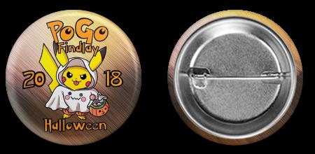 Halloween 2018 Button