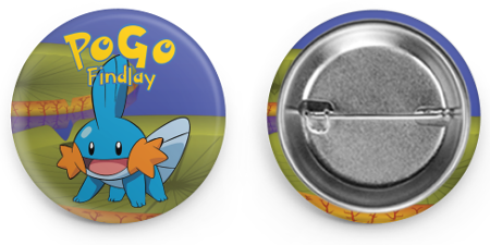 Mudkip Community Day Button